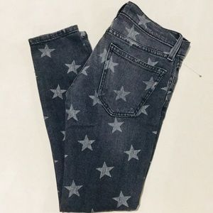 {Current/Elliott}  Stiletto Low-Rise Skinny Jeans